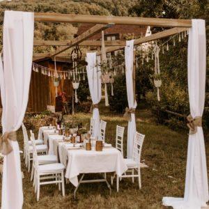 Traupavillon mieten - Hochzeitsdekoration